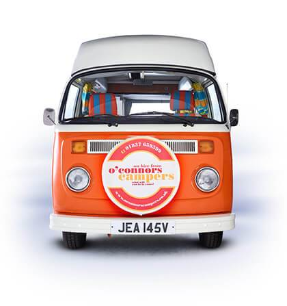 6411f131d6 VW Camper Van Hire in Devon and Cornwall - O Connors Volkswagen ...